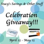 Blogger Opportunity: Stacy's Savings & Other Stuff Celebration Giveaway