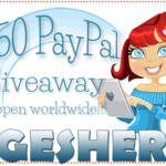 Free Blogger Opportunity With Referral Incentive: $50 PayPal Giveaway by Geshery