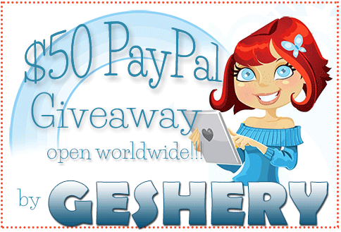 $50 Paypal Giveaway by Geshery