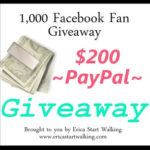 Blogger Opportunity: 1,000 Facebook Fan Giveaway