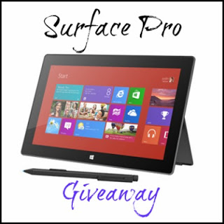 Surface Pro Giveaway Button