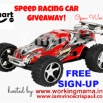 Blogger Sign-up: Speed Racing Car Giveaway