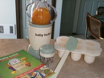 using baby bullet with squash