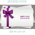 $25 Gift Card of Choice Giveaway Event